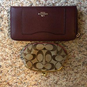 Like new Coach wallet bundle